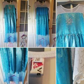 Som ny Frost kjole - Elsa kjole