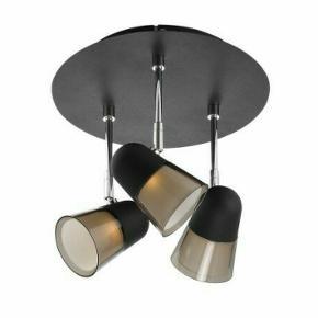 Arles 3-spot loftlampe fra Nordlux. Justerbare spots. Nypris 610 kr.