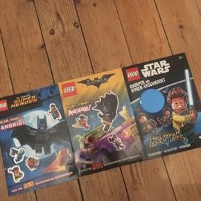 Lego Batman og Star wars blade - fast pris -køb 4 annoncer og den billigste er gratis - kan afhentes på Mimersgade 111 - sender gerne hvis du betaler Porto - mødes ikke andre steder - bytter ikke