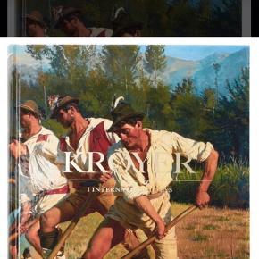 Krøyer i internationalt lys.  Coffee table book udgivet af Skagen Museum.  Aldrig åbnet.