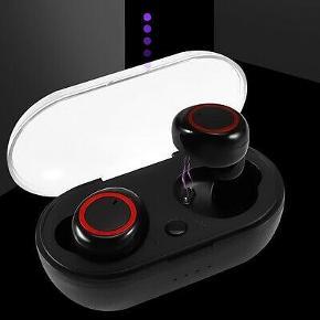 Universal Bluetooth Headset Pris : 170 kr TWS In-Ear Hovedtelefoner med Mikrofon Produktbeskrivelse Indbygget mikrofon kan du nemt tage telefonopkald med klar lydkvalitet Bluetooth version: V 5.0 Batterikapacitet på øretelefonen: 45 mAh Batterikapacitet på opbevaringsboksen: 300 mAh Transmissionsafstand:> 10m Taletid: 2 timer Spilletid: 2 timer Øretelefoner opladningstid: 30-45 minute Opbevaringsboksens opladningstid: 2 timer Understøttet system: Alle Bluetooth-enheder og telefoner