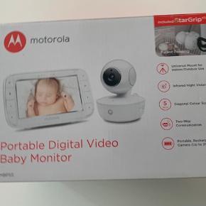 Motorola MBP-55 babysam sælges.  Aldrig brugt. Fået i gave, så kvittering haves desværre ikke.