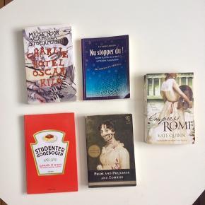 Blandede bøger i fin stand til 35,-/stykket. Jeg er åben for bud og giver gerne mængderabat.