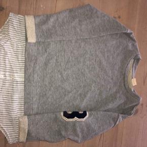 Bluse fra Zara Med skjorte-effekt  Str. 9/10
