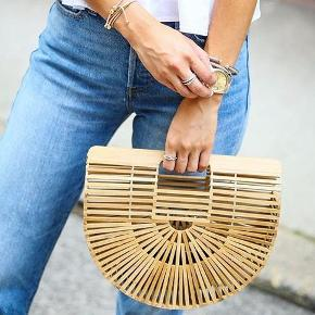 Bamboo bag, good as new!🤩