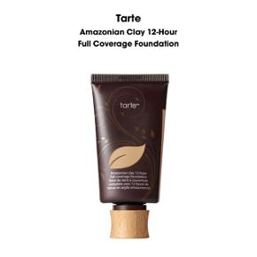 HELT NY Tarte Amazonian Clay 12-Hour Full Coverage Foundation i farven Light-Medium Sand.  Np. 345 kr.