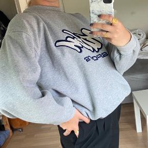 Vintage grå sweater