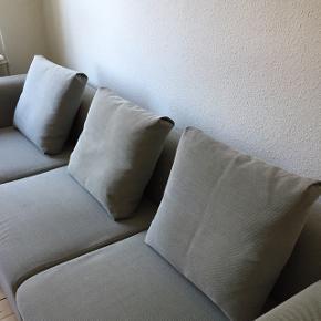 3 stk. Hay mags sofapuder i Hallingdal grå sælges. (KUN PUDERNE - IKKE SOFAEN)  Højde: 48 Længde: 55 Dybde: 9   Puderne er så fine - kun en enkelt pude kunne bruge en klud eller vask om man vil. Men det er ellers uden betydning.  Hentes i Ågade, Aalborg. Tæt på Kennedy arkaden. Sendes ikke!