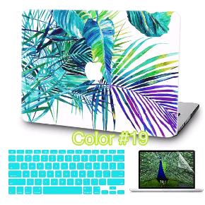 """Brand New hard cover for MacBook Air 13""""  Package goes with keyboard silicone cover in turquoise color just like on the picture."""