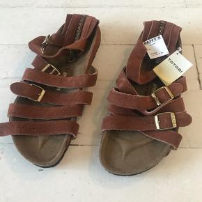 Philip Lim / Tatami ankel sandaler i ægte læder.. Helt nye - ALDRIG brugt. Super flotte  Str. 45  Men desværre fejlkøb