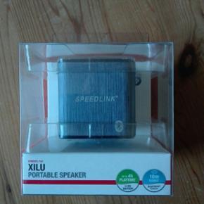 Lille fin trådløs Bluetooth højttaler Rækkevidde op til 10 meter Ny i ubrudt emballage God lyd