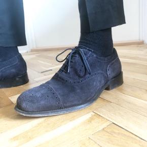 Flotte sko i ruskind fra j.lindeberg