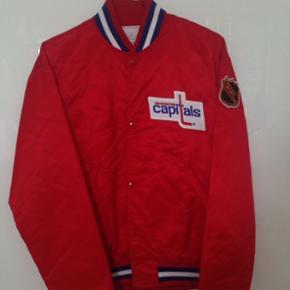 Starter jakke,supreme very rare Washington capitals bomber jakke.90s,Size:L brugt 1-2 gange. Satin. Supreme very rare