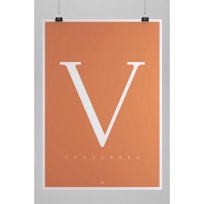 • Plakat fra En Klam Produktion med Vesterbro. • 50 cm x 70 cm.  • Sælges uden ramme.