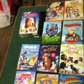 22 stk dvd børnefilm