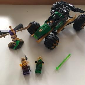 Lego 70755 Ninjago  Med æske og byggevejledning  To figurer defekt og mangler sværet  Sendes mod betaling