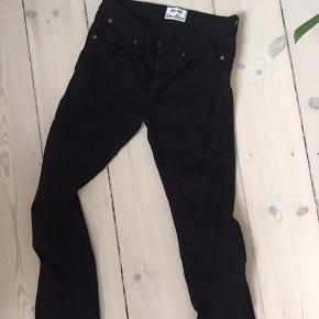 Helt nye acne bukser - helt sort - normal pris 1300kr