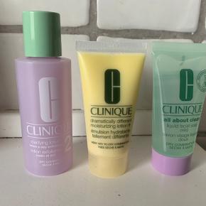 Dagcreme 30 ml  Facial soap 30 ml  Toner 60 ml  Ny📌 prisen er for alle 3 produkter.    Tjek alle mine TRENDSALE TILBUD, sender gerne flere produkter i samme pakke 🤩👍  Har 2 sæt tilbage