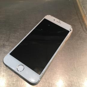 DEFEKT iPhone 6 sælges, skærmen viser ingen billed og sidder løst på
