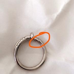 Søm ring med 6925 sterling silver stempel  Str.s