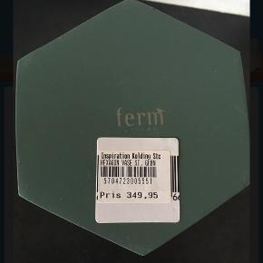 Ny 18 cm høj Fed petrolium grøn farve Nypris 349kr