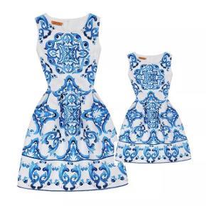 Mom -daughter matchy dresses