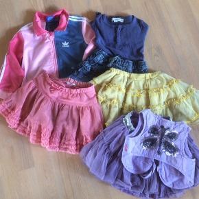 Billig tøjpakke str ca 98-104, 7 dele for kun mp 50kr, fint til børnehavebrug