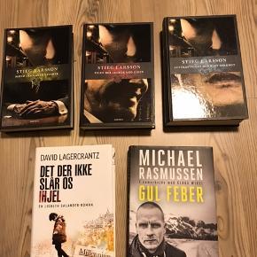 5 forskellige bøger. Kan også købes hver for sig.