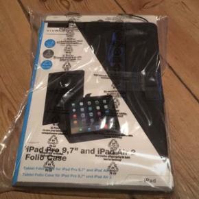 "IPad Pro 9,7""og iPad air 2 folio case"