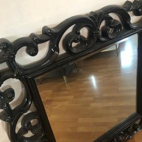 Stort sort spejl fra ilva - 109 / 109 cm