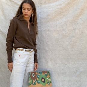 Gimaguas sweater in brown, size M. Brugt et par gange.