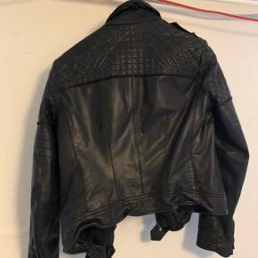 Cool læder jakke