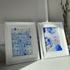 Fine malerier sælges - rammer kan tilkøbes🌼🛒