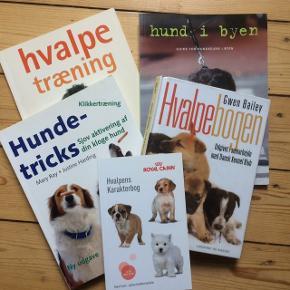 Diverse hundebøger. Sælges samlet for 75kr