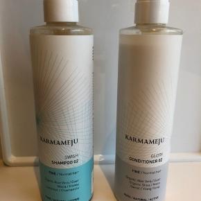 Shampoo og balsam   Balsam er brugt 1 gang Shampoo 3 gange  Sælges samlet  Se mine andre produkter  Købes min 3 produkter betaler jeg fragten