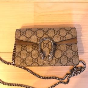 Gucci Dionysus Mini bag med logo print - Tasken er brugt max 2 gange og der er derfor ingen brugstegn overhovedet ! Nypris var 5400 - Prisen er fast 😁