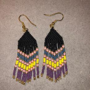 Hjemmelavede navajo øreringe