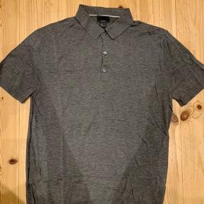Skjorte / poloskjorte / polo t-shirt i silkeblanding