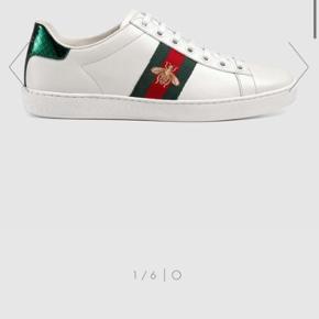 Fede sneakers fra Gucci - brugt ca. 5 gange. Fremstår derfor næsten som nye.  Alt medfølger