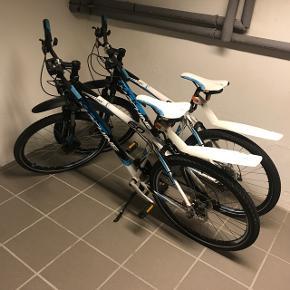 ❗️Begge cykler for prisen❗️2 stk. velholdte mountainbikes sælges! -Stået inde hver vinter -Punkterfri dæk, ikke originale mountainbike dæk, uden store dækmønstrer -Cykelkurv/indkøbskurv medfølger til den ene cykel  Kvittering på cyklerne haves   Skriv endelig for flere billeder 😊