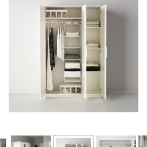 Brimnes skab fra IKEA. Mål ses på billede. Kan ikke levere, køber skal selv afhente.