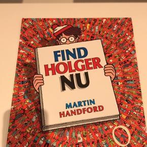 Find Holger bog aldrig brugt