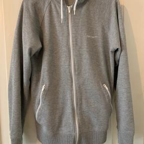 Vintage hoodie fra Carhartt med lynlås.  Ingen tydelige tegn på slid