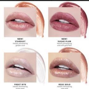 Jouer Long Wear Lip Topper i farven Rose Gold.  Det er farven nederst til højre på billedet med de fire farver.  Aldrig brugt.