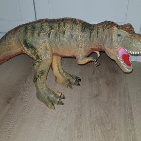 Meget stor dinosaurs. behagelig, gummi..  Som nyt