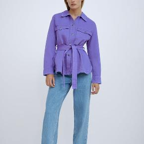 Fed lilla jakke fra Zara. Købt i september og brugt én gang ☺️