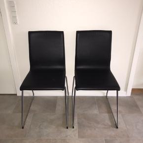 To Volfgang stole fra IKEA.  De er ca et år gamle.  Nypris 950kr for begge Sælges for 350kr for begge  Ellers kom med et bud!