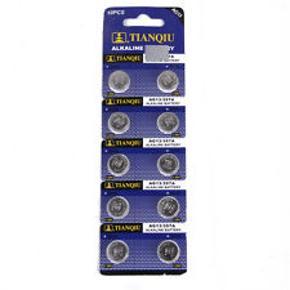 Knapcellebatterier AG 13