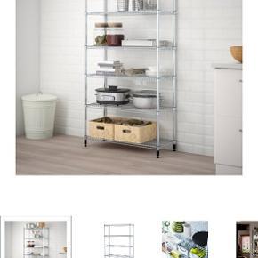 Omar reolsektion fra IKEA. I upåklagelig stand og købt for under et år siden. Jeg trænger bare til at skifte ud - igen 😉 Se mål på billedet.  Afhentes på Frederiksbjerg, Aarhus C