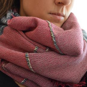 dejlig varm tørklæde fra Tchibo